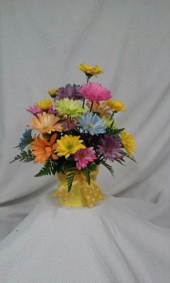 Crazy Daisy Bouquet from Aletha's Florist in Marietta, OH