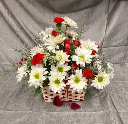 BASKET OF LOVE from Aletha's Florist in Marietta, OH