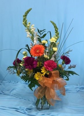 Fall Delight from Aletha's Florist in Marietta, OH