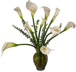 Calla Lily Bouquet from Aletha's Florist in Marietta, OH