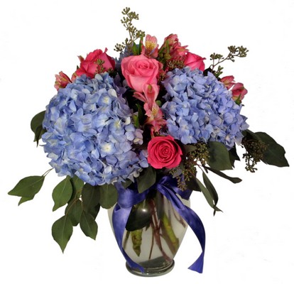 Hydrangeas and Roses from Aletha's Florist in Marietta, OH