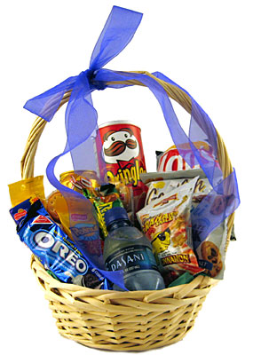 Junk Food Basket from Aletha's Florist in Marietta, OH
